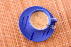 Coffee with milk Royalty Free Stock Images