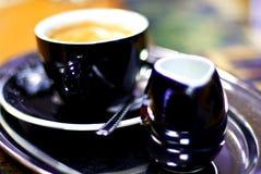 Coffee with milk Stock Photo