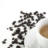 Coffee and Milk Royalty Free Stock Images