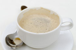 Coffee with milk cup Stock Photos