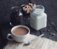 Coffee and milk Royalty Free Stock Photos