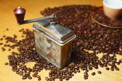 Coffee mill Royalty Free Stock Photo