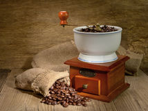 Coffee mill Stock Photos