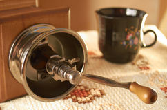 Coffee mill Stock Images