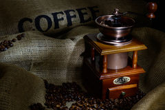 Coffee mill Royalty Free Stock Photography