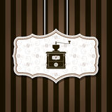 Coffee mill background Royalty Free Stock Photo