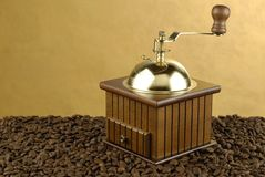 Coffee mill Royalty Free Stock Image
