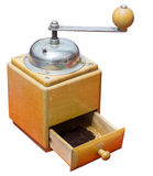 Coffee mill isolated on white background Stock Images