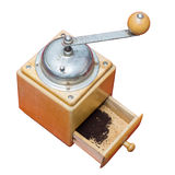 Coffee mill isolated on white background Royalty Free Stock Photos