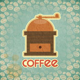 Coffee mill vintage Royalty Free Stock Image