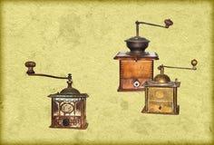 coffee mills royalty free stock photo