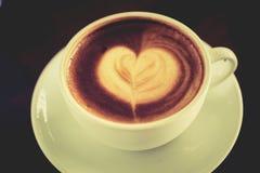 Coffee Mocha Coffee Time to eat. Royalty Free Stock Photo