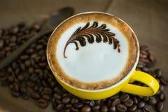 Coffee Mocha Coffee Time to eat. Stock Photography