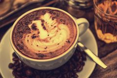 Coffee Mocha hot Stock Photos