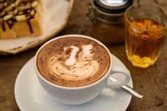 Coffee Mocha hot Stock Photography