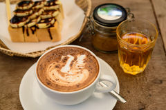 Coffee Mocha hot Royalty Free Stock Images