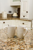 Coffee in modern kitchen Stock Image