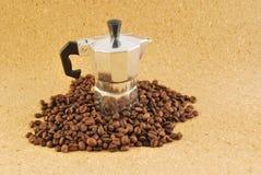 Coffee moka coffee made at home Stock Image