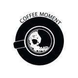 Coffee moment black  Stock Photos