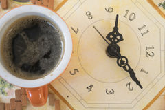 Coffee moment Royalty Free Stock Image