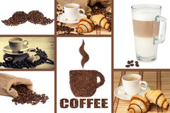 Coffee Montage Royalty Free Stock Image