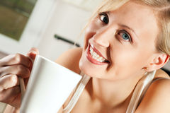 Coffee in the morning Royalty Free Stock Image