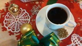 Coffee morning. Black sweet coffee Royalty Free Stock Photos