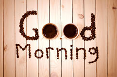 Coffee in the morning. Royalty Free Stock Photo