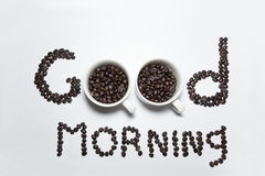 Coffee morning time Stock Images