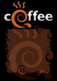 Coffee motifs Royalty Free Stock Photography
