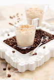 Coffee mousse Royalty Free Stock Photos