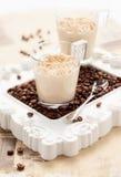 Coffee mousse Royalty Free Stock Photos