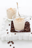 Coffee mousse Stock Photos