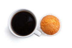 Coffee and muffin Stock Photos