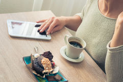 Coffee with a muffin for Breakfast Stock Photography