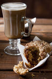 Coffee and Muffin Stock Photography