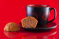 Coffee and Muffins Royalty Free Stock Photography