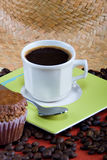 Coffee and muffins Stock Photo