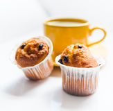Coffee and muffins Royalty Free Stock Images