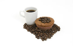 Coffee Muffins Stock Image