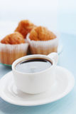 Coffee with a muffins Stock Image