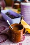 Coffee in a mug Stock Photography