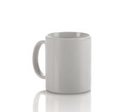Coffee Mug with Copy Space Stock Images