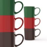 Coffee mug. 3d on white background vector illustration