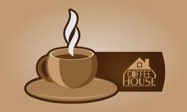 Coffee mug. Espresso. Vector illustration Stock Photography