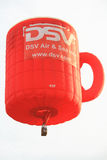 Coffee mug hot air balloon Royalty Free Stock Photo