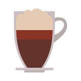 Coffee mug icon Royalty Free Stock Images