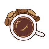 Coffee mug icon Royalty Free Stock Photography
