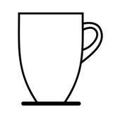 Coffee mug icon Stock Photography