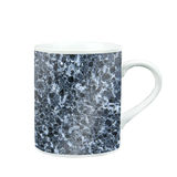 coffee mug with marble pattern texture. gift and souvenir with c Royalty Free Stock Photos